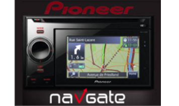 2017 European Map Update for Pioneer MY10 AVIC-F320BT, AVIC-F3210BT,  AVIC-F220